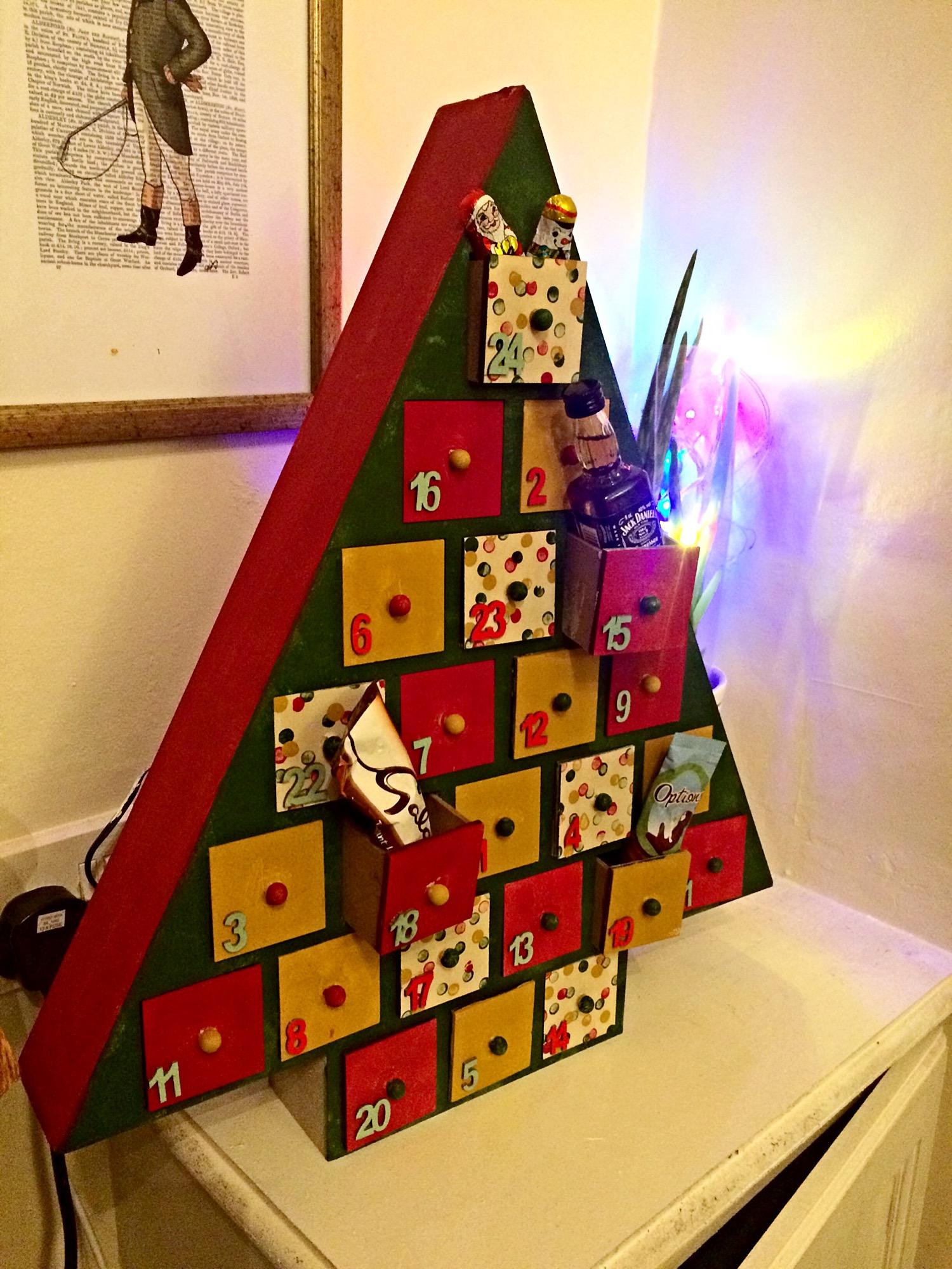 Diy Advent Calendar Project With Hobbycraft Suggestive