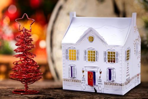 Christmas House Card - High Res