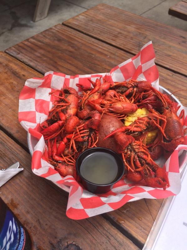 Crawfish - 48 hours in Houston