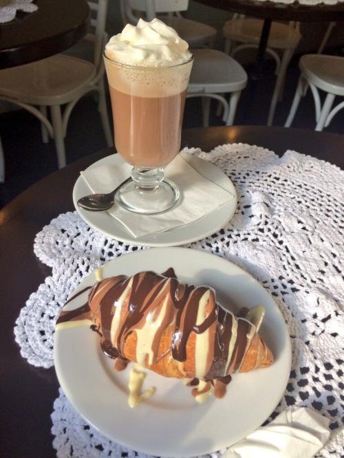 Manufaktura Czekolady Krakow Chocolate Croissant