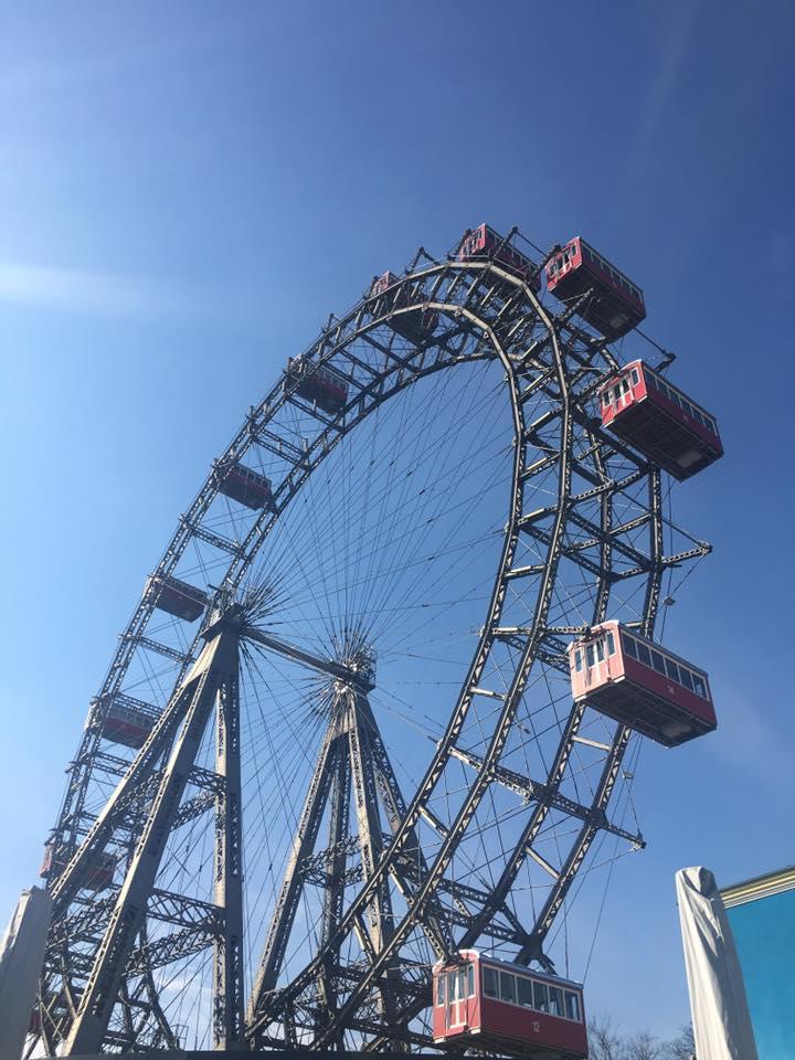 The Prater Wheel, The Wiener Riesenrad, Vienna